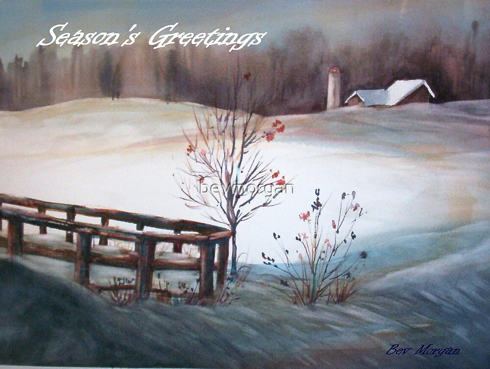 Merry Christmas from Canada by bevmorgan