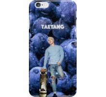 Taeyang_ Blueberry .2 iPhone Case/Skin