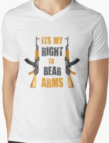 right to bear arms Mens V-Neck T-Shirt