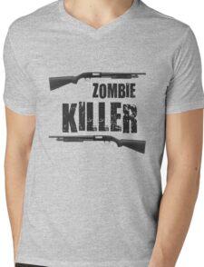 zombie killer shotgun Mens V-Neck T-Shirt