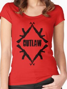 outlaw Women's Fitted Scoop T-Shirt