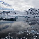 Reflecting on Antarctica 073 by Karl David Hill