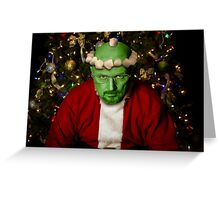 Breaking Bad Santa Greeting Card