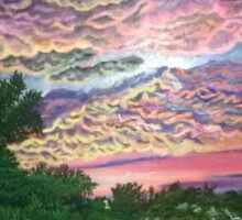 westfield sunset Sticker