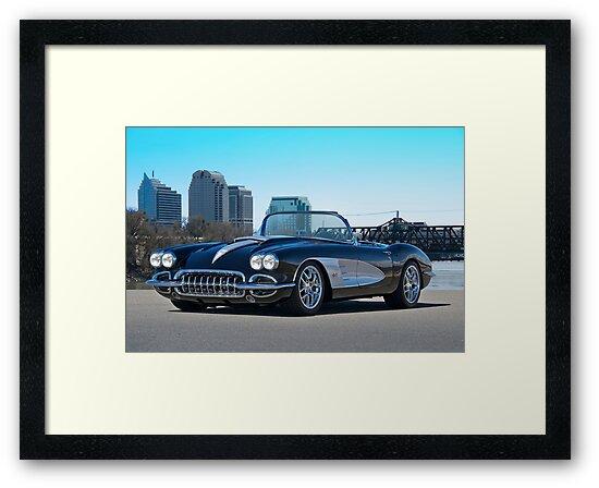 1958 Skyline Corvette by DaveKoontz