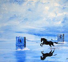 war horse by artbygeorgemb