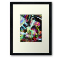 Seagal Abstract Framed Print