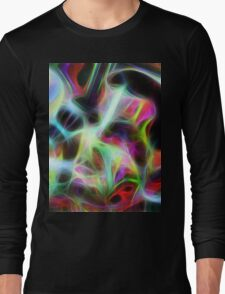 Seagal Abstract Long Sleeve T-Shirt