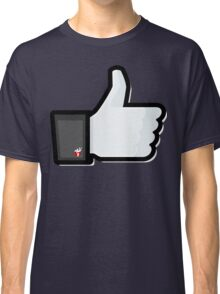 FACEBOOK X GHOSTBUSTERS (GB2) Classic T-Shirt