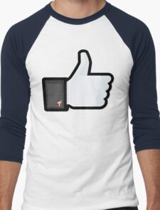 FACEBOOK X GHOSTBUSTERS (GB2) Men's Baseball ¾ T-Shirt