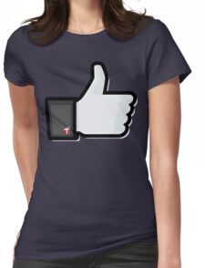 FACEBOOK X GHOSTBUSTERS (GB2) Womens Fitted T-Shirt