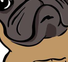 Cartoon Pug dog Sticker