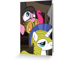 Pinkie Cell Greeting Card