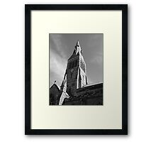Pillar of Faith Framed Print