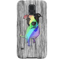 Big head, big heart - pretty rainbows! Samsung Galaxy Case/Skin