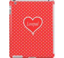 Red Lovepad iPad Case/Skin