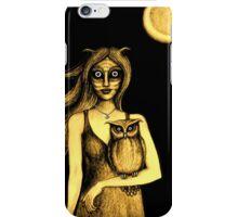 Nocturnal (Gold) iPhone Case/Skin