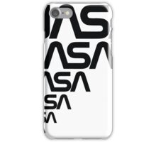 NASA Logotype from the Graphics Standards Manual iPhone Case/Skin