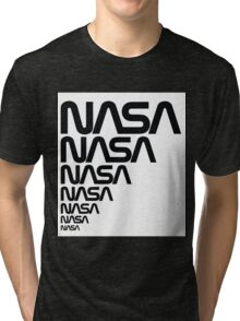 NASA Logotype from the Graphics Standards Manual Tri-blend T-Shirt