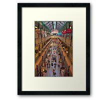 Strand Arcade, Sydney at Christmas Time Framed Print