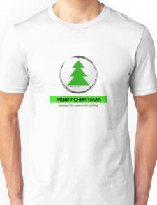 merry Christmas the season for giving Unisex T-Shirt