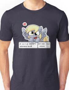 A Wild Derpy Appeared! Unisex T-Shirt