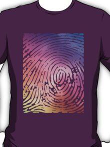 Rainbow Fingerprint. T-Shirt