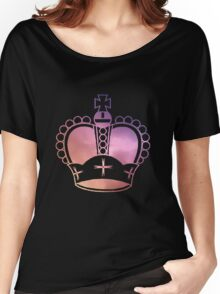 Rainbow Crown Women's Relaxed Fit T-Shirt