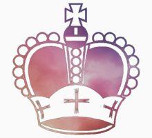 Rainbow Crown Sticker by LewisJamesMuzzy