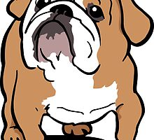 English bulldog cartoon by DogiStyle