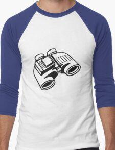Binoculars. Men's Baseball ¾ T-Shirt