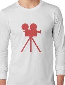 Red Tripod. Long Sleeve T-Shirt