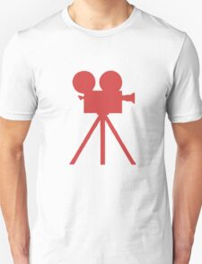 Red Tripod. Unisex T-Shirt