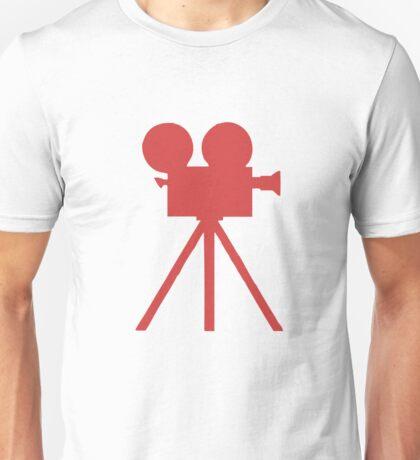 Red Tripod. Unisex T-Shirt