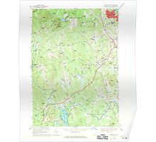 USGS TOPO Map New Hampshire NH Pinardville 329754 1968 24000 Poster