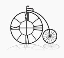 The Penny Farthing Clock by emtee