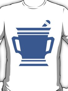 Blue Coffee. T-Shirt