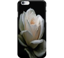 White On Black iPhone Case iPhone Case/Skin