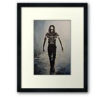 Eric Draven - The Crow Framed Print