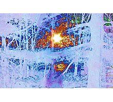 Snowblind, the beginning. Photographic Print