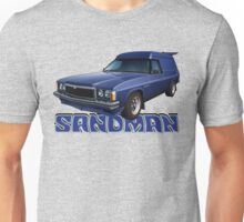 HZ Holden Sandman Panel Van - Windsor Blue Unisex T-Shirt