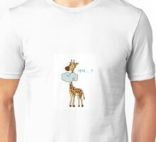 maybe giraffe Unisex T-Shirt