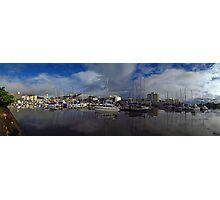 Townsville Yatch Club Marina, Ross Creek, Townsville Photographic Print