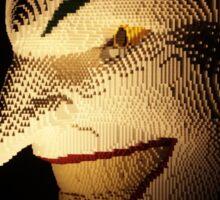 Lego Joker face Sticker
