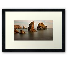 Copper Coast, County Waterford, Ireland Framed Print