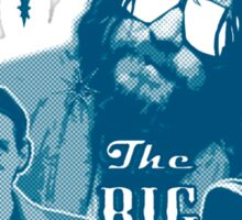 Big lebowski Collage Sticker