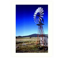 Windmill.  Art Print