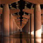 Under the Bridge by Sue  Cullumber