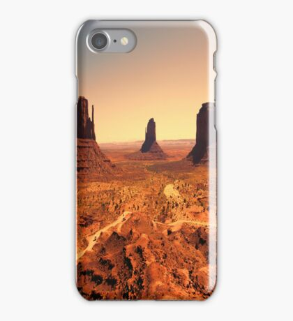 Sunset Monument iPhone Case iPhone Case/Skin