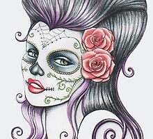 Day of the dead  by Isobel Von Finklestein